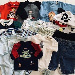 BABY BOY (0-3mo) WINTER CLOTHES ~ WILL SEPARATE